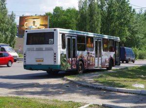 реклама на транспорте Тамбов